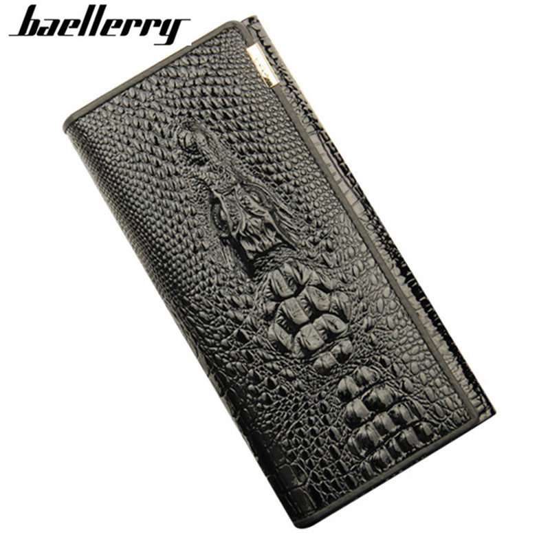 2017 Hot Selling Crocodile Alligator Women Wallet Casual Long Ladies Genuine Leather Wallets female Hasp Card Holder Day clutch yuanyu new hot free shipping card bag real thailand crocodile leather long wallet female fashion women day clutche purse