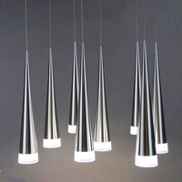 Meteor Shower Led Conical pendant light Aluminum&metal hang lamp Home & Commercial Decoration Lamps and lanterns AC100 240V