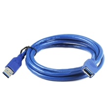 1M High Speed USB3.0 Extension cord 100cm Male Female Lengthen USB3.0 Cable Line Male to Female USB V3.0 USB3 Cable Cord Wire