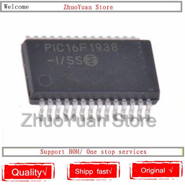 1PCS/lot PIC16F1938-I/SS 16F1938 PIC16F1938 SSOP-28 28Pin IC Chip New Original In Stock