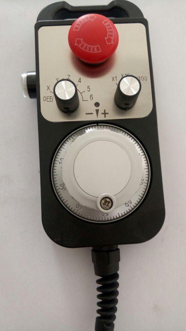 Cnc générateur d'impulsions poignée roue kits encodeur rotatif avec d'urgence CNC machine encoder 100PPR