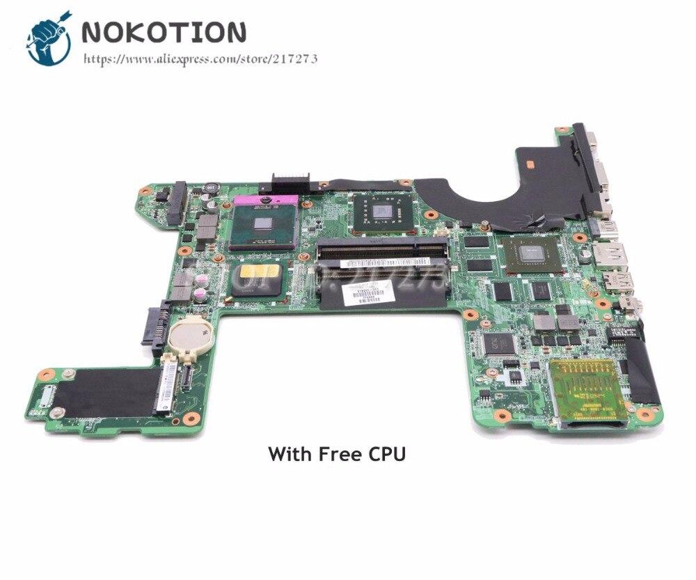 NOKOTION 519220-001 For HP HDX16 Laptop Motherboard DA0UT6MB8F0 MAIN BOARD PM45 DDR2 GT130M Free CPU