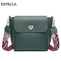 REPRCLA Luxury Handbags Women Bag Brand Designer Women Messenger Bags Fashion PU Leather Shoulder Bag Crossbody