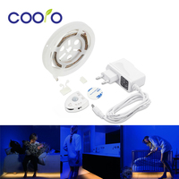Under Bed Motion Sensor Dimmable Lighting Warm White LED Strip With Automatic Shut Off Timer Cabinets