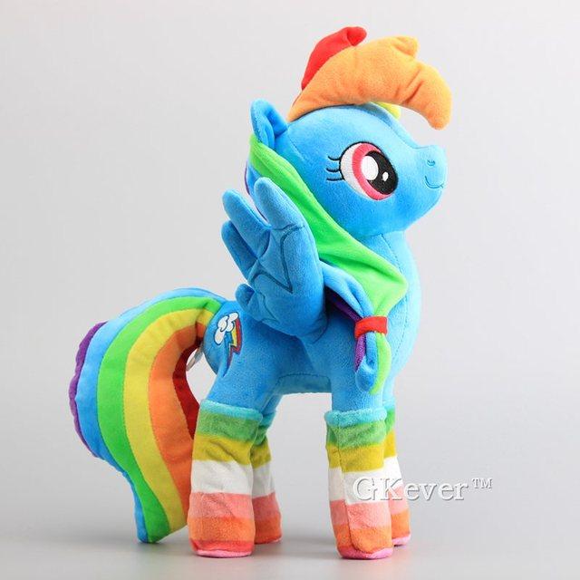 Hot Sale Horses Apple Jack Rainbow Dash Twilight Sparkle Rarity Soft Push Toy Dolls Stuffed Animals 38-40 CM