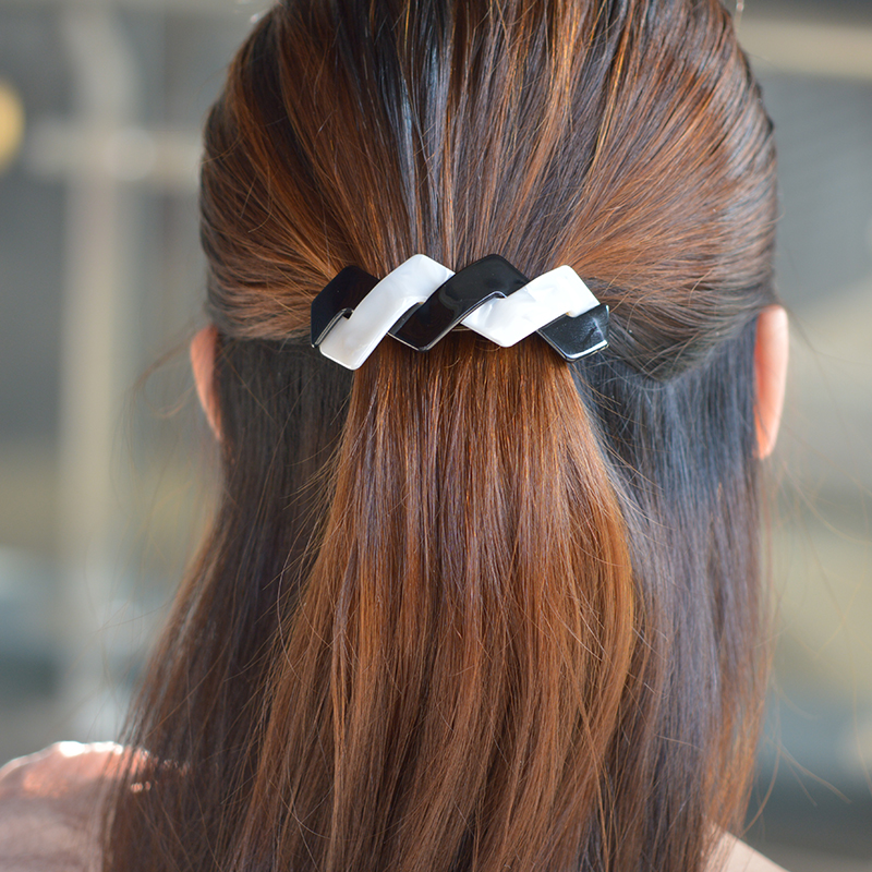 French Acetate Hair Clip Barrette Hair Bands Fascinator Hair Accesorios