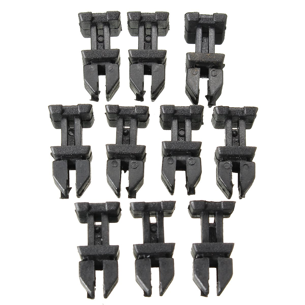 10 Pcs Set Door Plastic Panel Clip Push Retainer Body