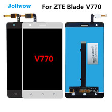 Tested!For ZTE Blade V770 LCD Display with Touch Screen Digitizer Assembly Replacement For ZTE Blade V770 lcd white black for zte blade a310 lcd display touch screen digitizer assembly replacement free shipping order tracking