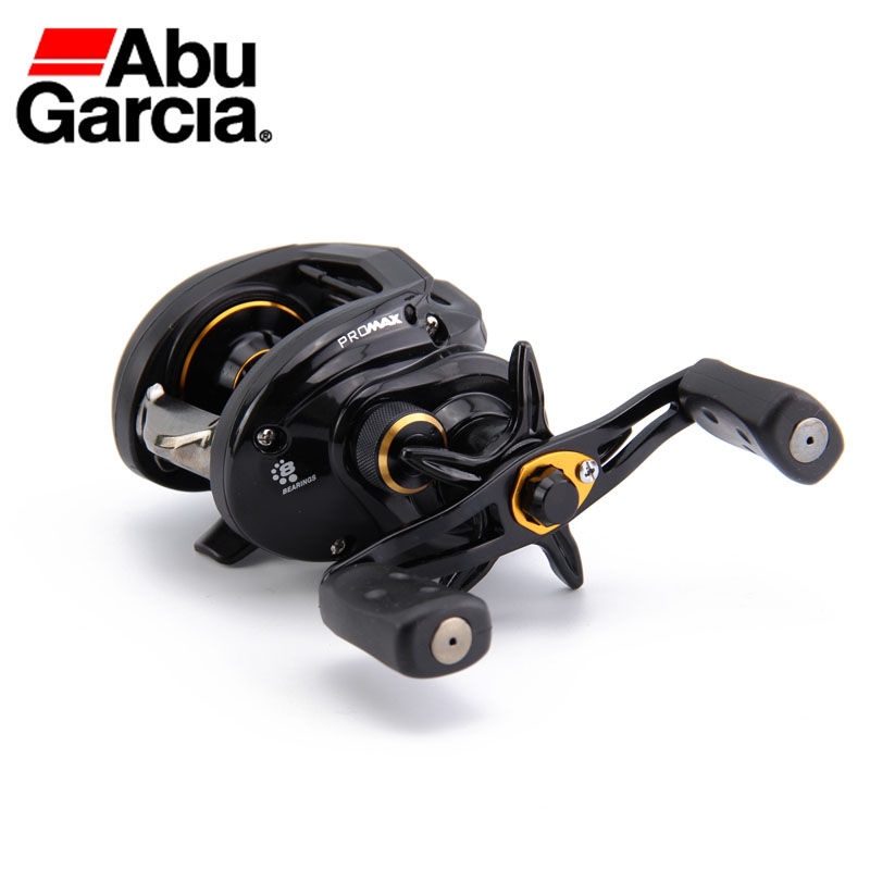 Abu Garcia PMAX3 Pro Max3 Bait Casting Reel 7+1 BB Ratio 7.1:1 207g Right Hand Trolling Fishing Reel Drag 8KG Line 12LB/132M nunatak original 2017 baitcasting fishing reel t3 mx 1016sh 5 0kg 6 1bb 7 1 1 right hand casting fishing reels saltwater wheel