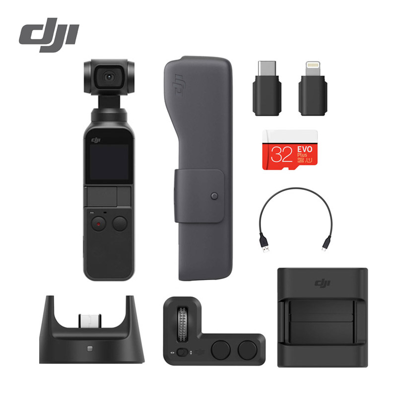 DJI Osmo Pocket 3 axis stabilized handheld camera 4K 60fps Video DJI compact and intelligent Osmo