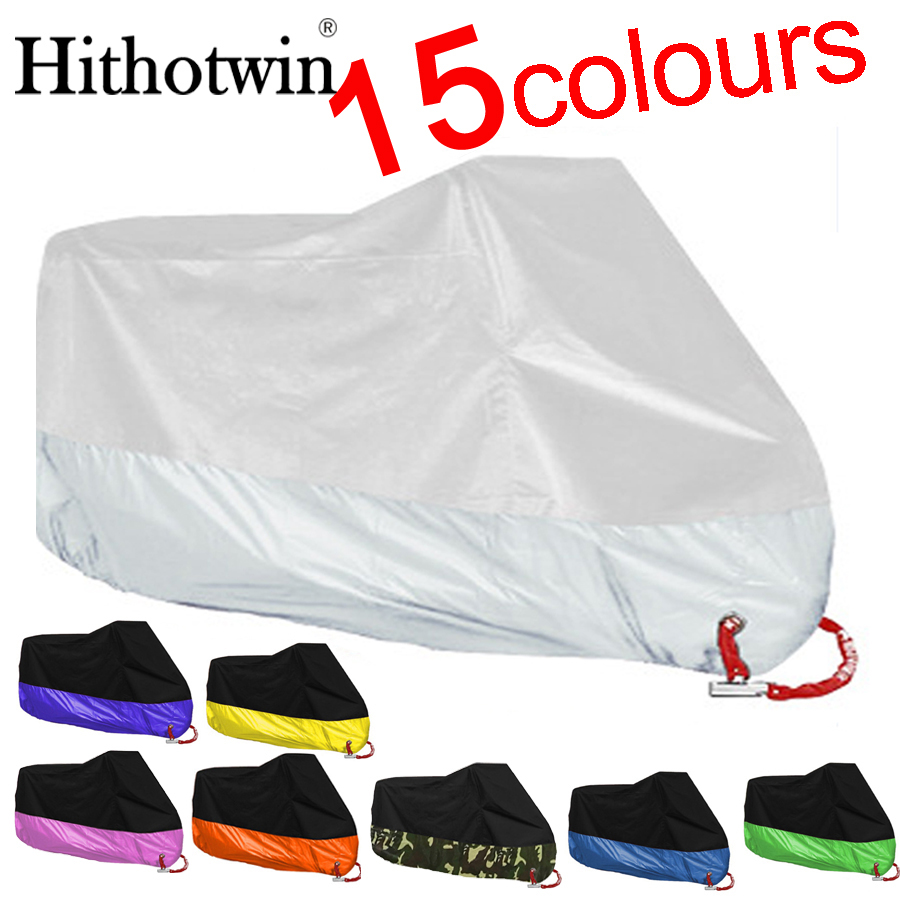 M,L,XL,2XL,3XL,4XL New Motorcycle Covers Waterproof Breathable Outdoor Motorcycle Scooter Rain Coat UV Protective Covering