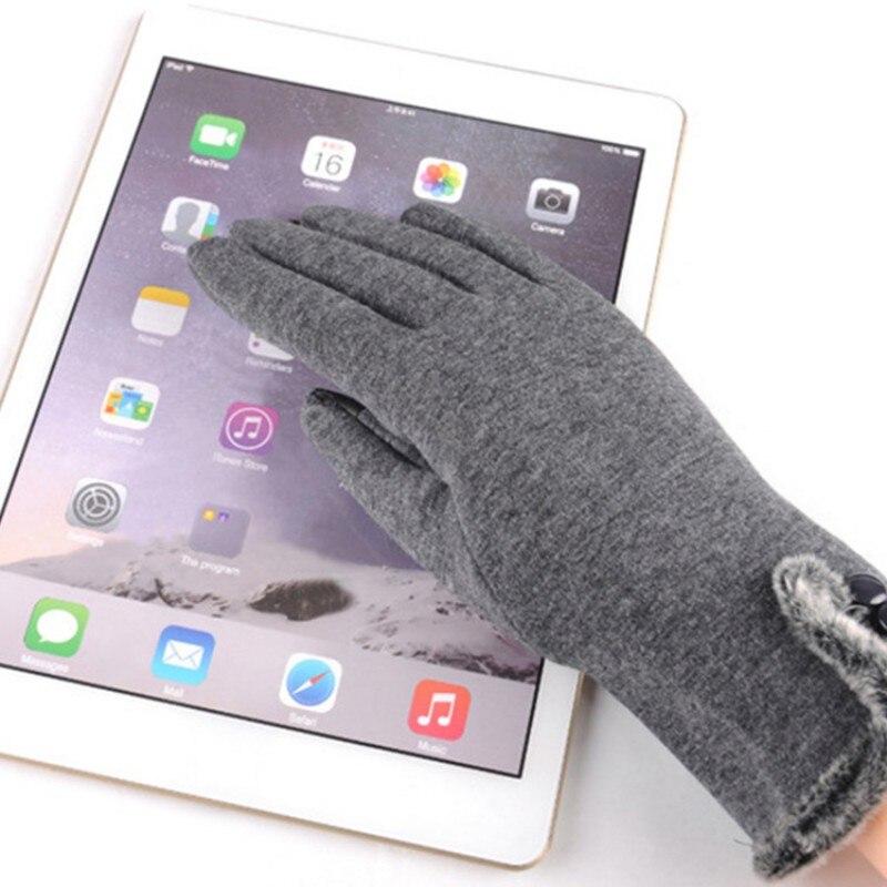 Winter Women Skiing Warm Gloves Female Screen Sensory Wrist Gloves for Women Hand Warmers Mittens k5