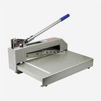 XD322 Настольный станок с ручным управлением для резки бумаги триммер для бумаги Резак Ручной пресс устройство для резки подача размер 320 мм