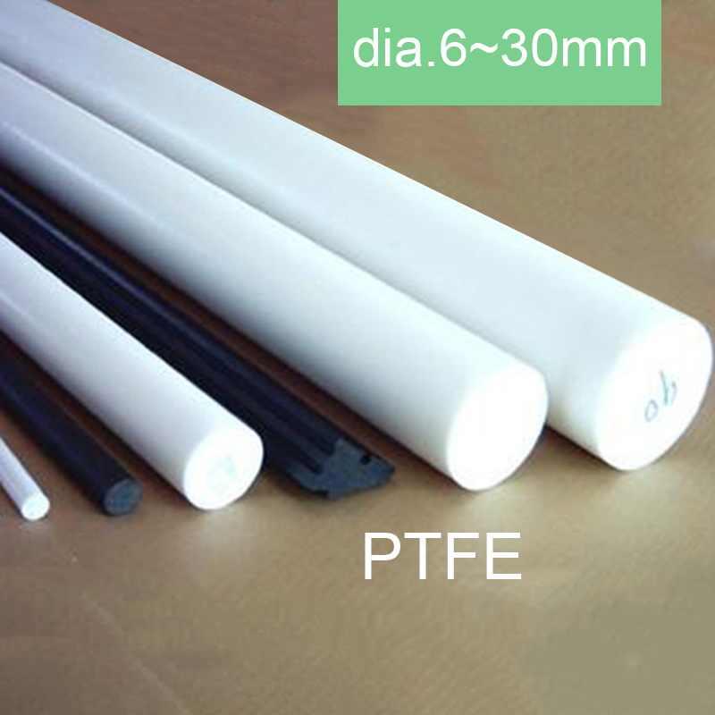 1pcs New 300mm//12/'/' Long Dia 35mm PTFE F4 Round Rod Bar