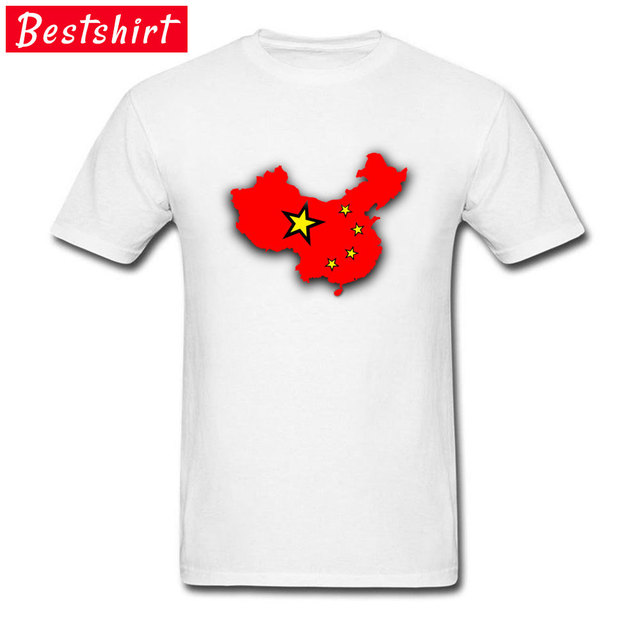 667bff820f5 Chinese Flag Graphic Mystic Sleeve T Shirts For Men Newest Design Natural  Round Collar Tee Shirt On Sale Custom Wholesale
