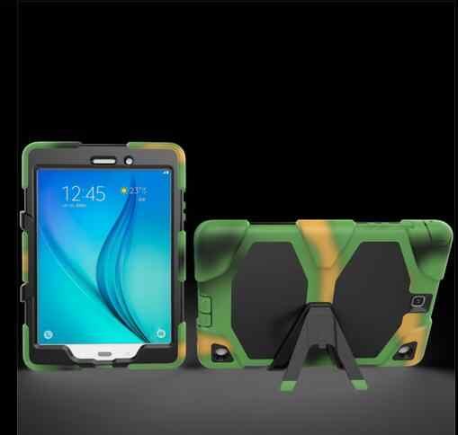Чехол для Samsung Galaxy Tab E 9 6 SM T560 T561 жесткие износоустойчивый в стиле милитари DUTY