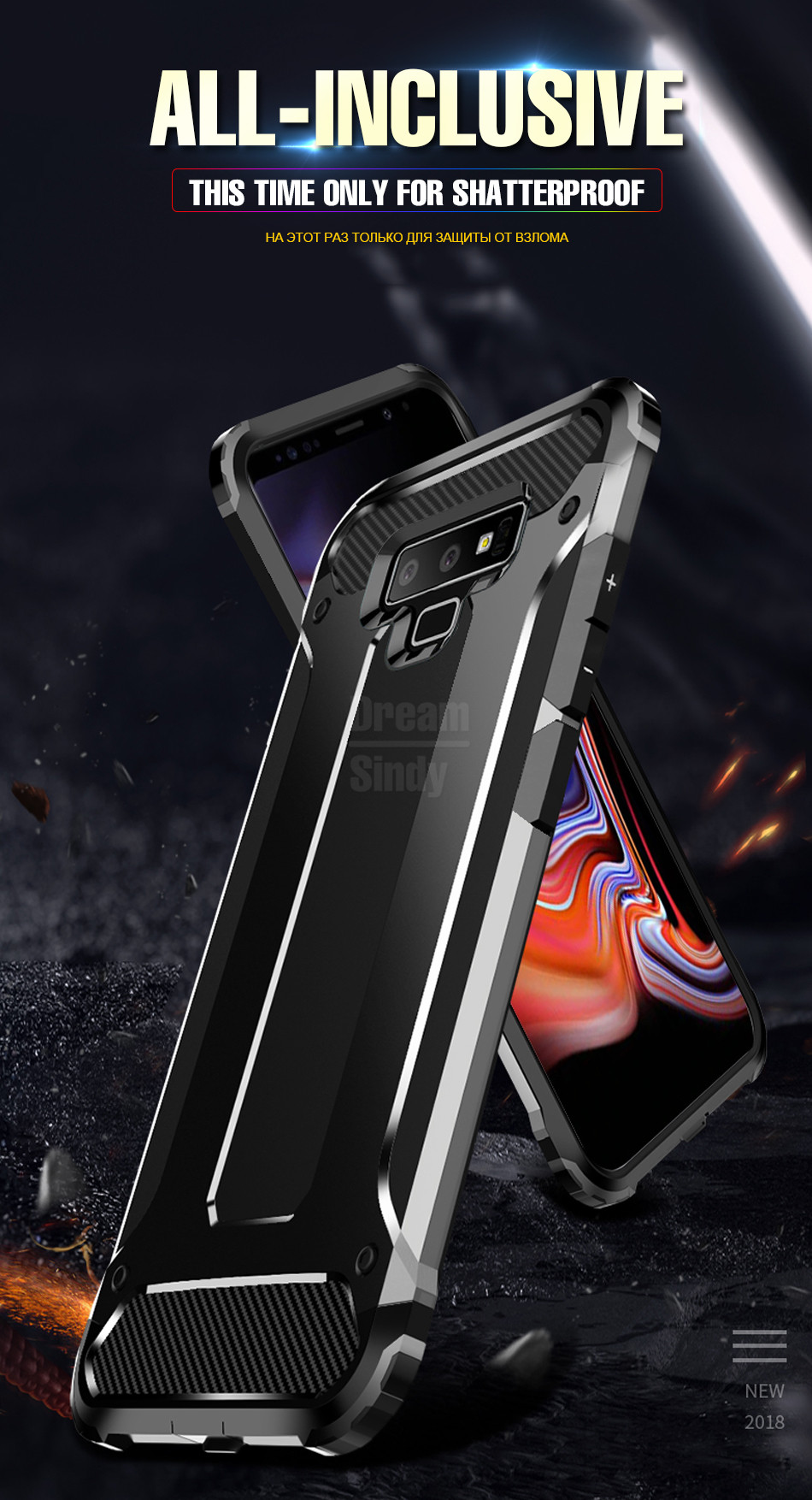 Luxury Armor Shockproof Bumper Case01