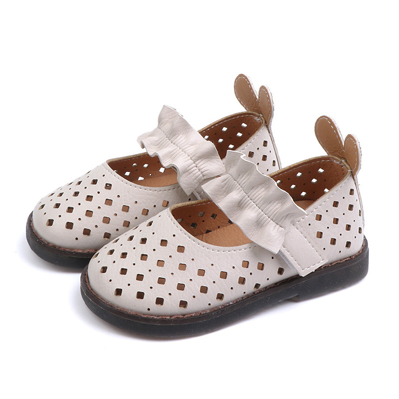 Children Girls Sandals Princess Shoes Summer Toddler Baby Cutting Breathable
