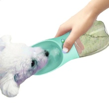 Portable Pet Dog Drinking Water Bottle For Outdoor/Travel Easy To Carry Plastic Supplies Cat Travel Cup