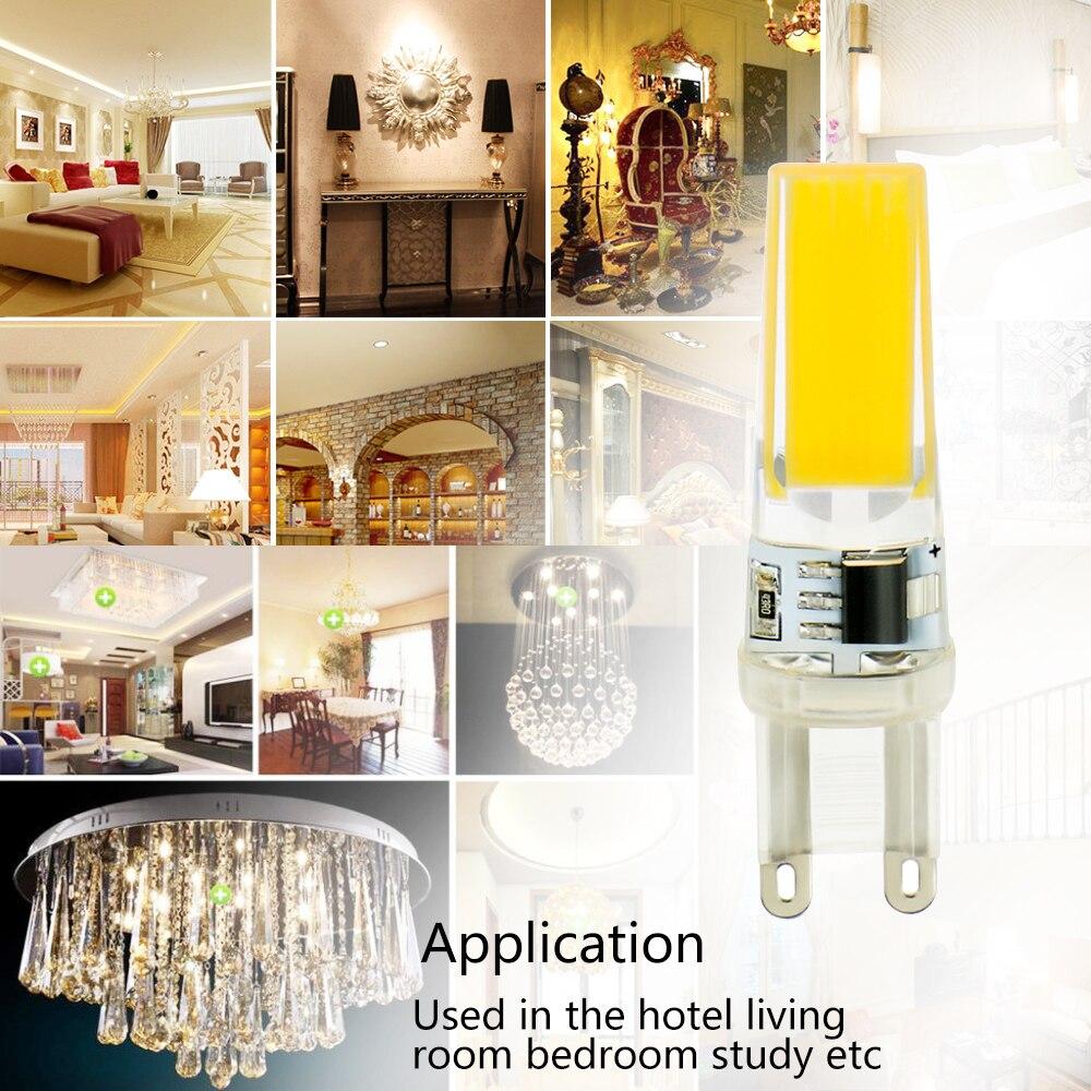 Lâmpadas Led e Tubos luzes do candelabro para casa Comprimento : 48-57mm