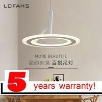 LOFAHS modern LED suspension chandeliers lighting for living room bedroom dining room lamp Indoor hang chandelier fixtures