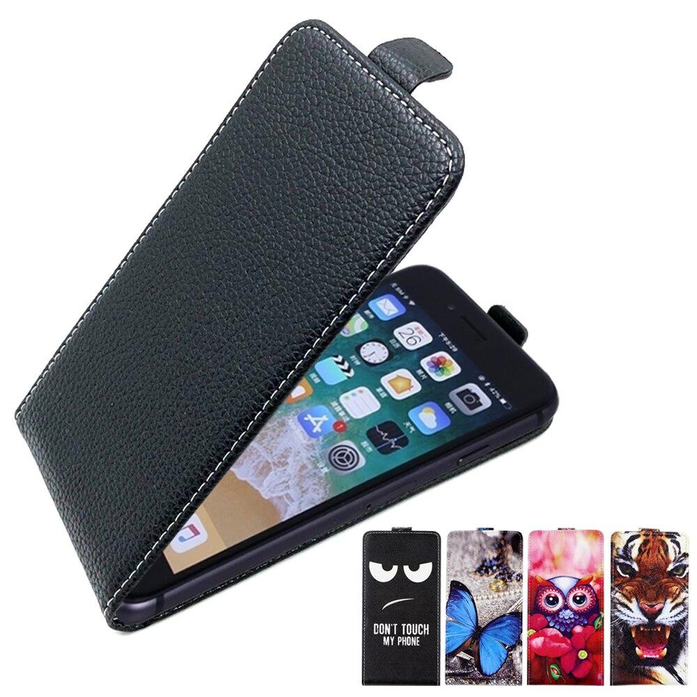 Coque SONCASE pour Fly IQ4417 Quad ERA Energy 3 coque de téléphone arrière 100% spécial belle Cool cartoon pu housse en cuir