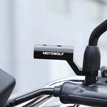 New Motorcycle Expansion Rack Rear View Handlebar Mirror Mount Adapter Motorbike Light Expansion Bracket Phone Holder Stand