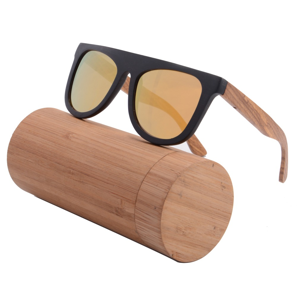 Mens Wooden Sunglasses  aliexpress com retro ebony pear wood sunglasses round wooden