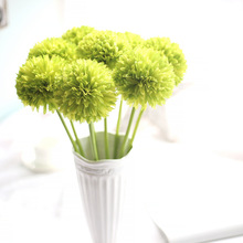 1PCS onion flower Spring Artificial Fake Flower Arrangement Bouquet Room Christmas Decoration Wedding Hydrangea Decor