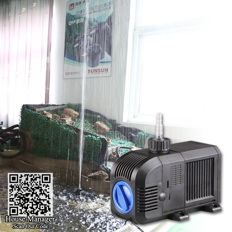 Powerful 80 150W submersible water pump Adjustable fountain pump fountain for Pond Pool Garden Street Greenhouse