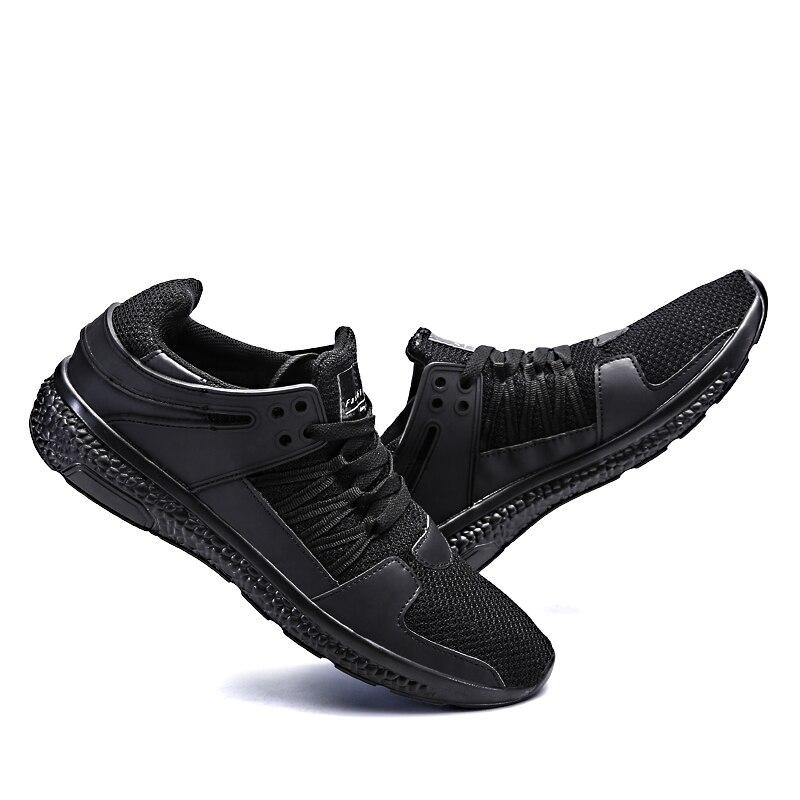 Zapatillas Mujer deporte Весна 2018 кроссовки Для мужчин дышащие кроссовки с сеткой для Для мужчин амортизацию спортивная обувь Человек