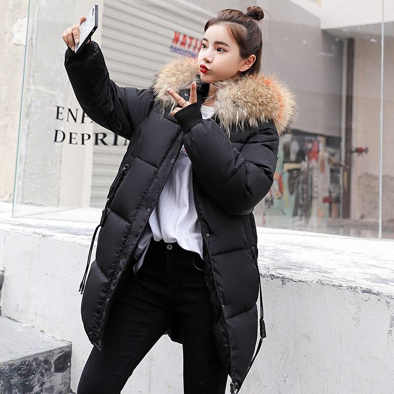 rouge Ciel Section Femmes noir Version Green pu Coton Pain Bas Hiver 2018 Veste Sur Vers Nouvelles Longue Vêtements Genou De Beige Coréenne bleu army Le U1vy8qS