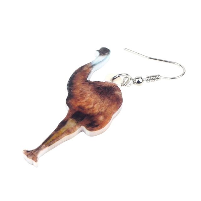 Emu Bird Earrings 1