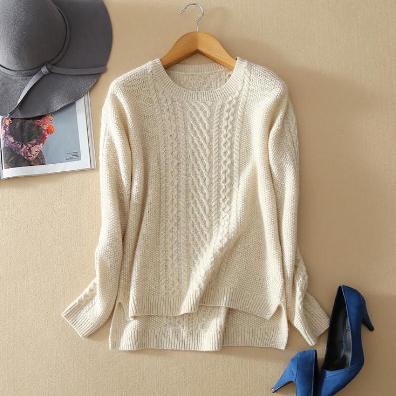 Повседневное зимние кашемировые Для женщин вязаный свитер Новое поступление 2017 года Для женщин S Пуловеры для женщин кашемир трикотажные Р