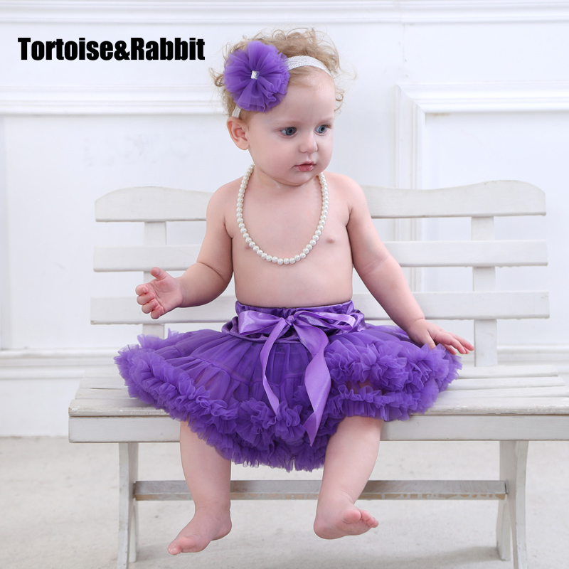 Designer Baby Tutu Skirts Ballerina Pettiskirt Toddler Girls Party Petticoat Children Tulle Underskirt American Western Summer