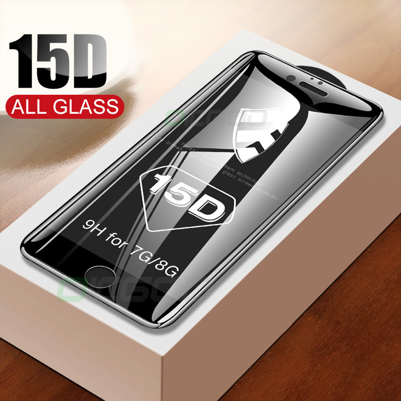 15D Tempered Glass on the For iPhone 6 6s 7 8 Plus Xr Screen Protector Full Cover Glass For iPhone XR X XS Max Protective Glass15D Tempered Glass on the For iPhone 6 6s 7 8 Plus Xr Screen Protector Full Cover Glass For iPhone XR X XS Max Protective Glass