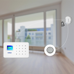 Image 4 - KERUI kablosuz Mini PIR hareket sensörü Alarm dedektörü manyetik döner tabanı G18 W18 ev güvenlik Alarm sistemi