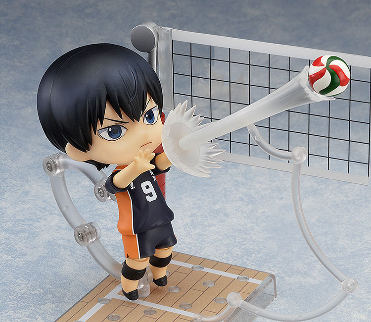 10CM Haikyuu Kageyama Tobio Nendoroid #489 action figure PVC toys collection doll anime cartoon model цена