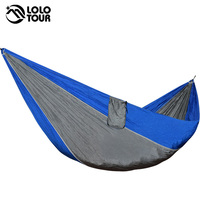 Ultralight 1 Person Hammock Portable Single Outdoor Camping Hamak Hiking Climbing Durable Hamac Can Hold 200kg
