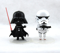 New Ver Classic Sci Fi Movie Star Wars Darth Vader Anakin Skywalker Stormtrooper 10cm Action Figure