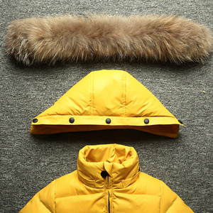 Image 4 - Childrens high end fashion warm conjoined down jacket