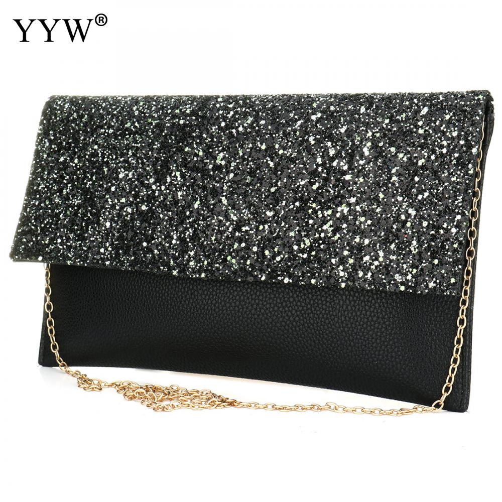 Brand Fashion Female Evening Party Bag Gold Women Handbags Silver Vintage Envelope Bag Blue Magnetic Snap Crossbody Clutch Bags