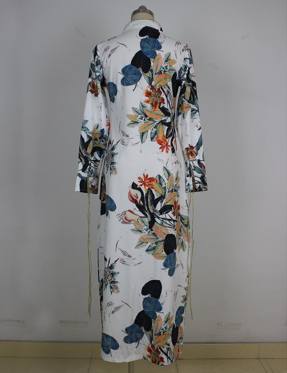 HTB1F.KqQXXXXXXVXXXXq6xXFXXXx - Long Sleeve Ethnic Floral Print White Shirt Women Kimono Blusas