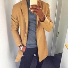 Alisister модные зимние мужские s тренчи Длинные куртки пальто Классические Куртки однотонный тонкий спортивный костюм Hombre мужская одежда хаки