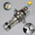 Envío Gratis 2 unids H4 100 W 20 LED 800LM Coches Niebla de la Cabeza luces de la Lámpara Auto 12 V Daytime Running Light Bulb aparcamiento Tail Señal blanco