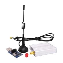 2sets/lot SV612 1km 868MHz RS485 port 20dBm wireless RF remote control transmitter receiver module kit