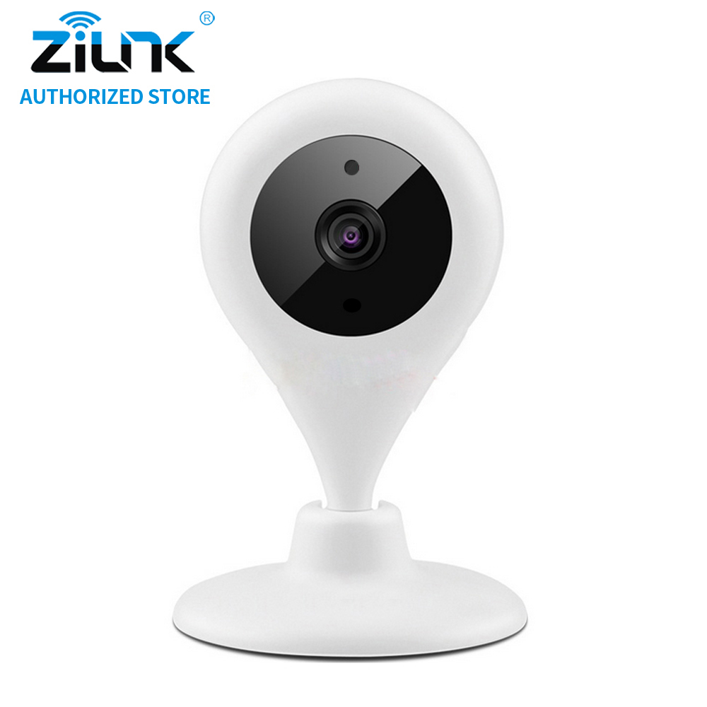 где купить ZILNK Mini 720P Wireless IP Camera WiFi Home Security CCTV Camera Two Way Audio Night Vision HD P2P Indoor Baby Monitor White по лучшей цене