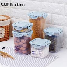 Stackable Plastic Food Storage Box Sealing Jar Household Storage Box Kitchen Fridge Noodle Grain Storage Food Container LPC8178