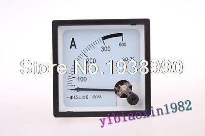 1pcs AC 300A Analog AMP Panel Meter and Current transformer