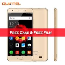 """Новый Oukitel K4000 плюс 4 г мобильного телефона Android 6.0 5 """"HD MTK6737 Quad Core 1.3 ГГц 2 ГБ Оперативная память 16 ГБ Встроенная память 13.0MP Камера отпечатков пальцев ID"""